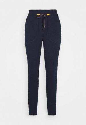 JOGGER - Pantalon de survêtement - dark nocturnal/typo multi