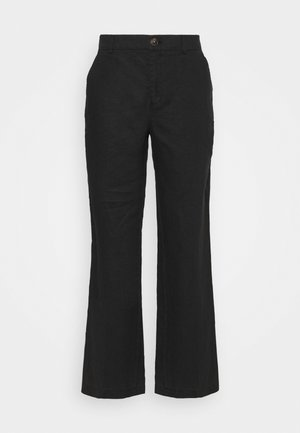 BEGITTAPW - Trousers - black