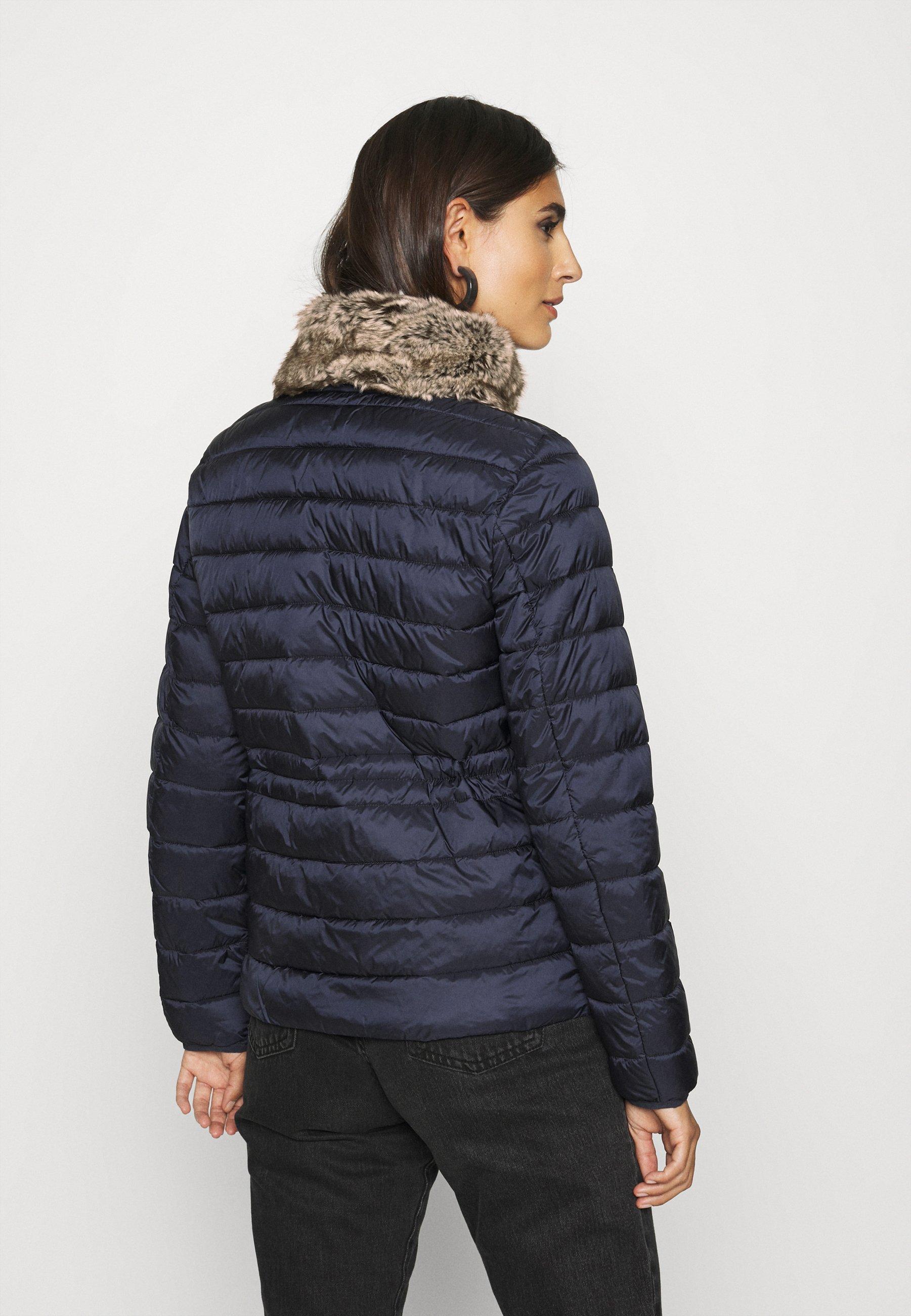 2020 New Women's Clothing Esprit Collection THINSU Light jacket navy dWfGi6ezG