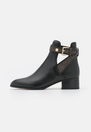 BRITTON BOOTIE - Classic ankle boots - black/brown