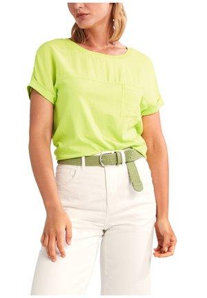 Basic T-shirt - flash yellow
