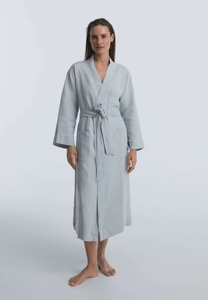Dressing gown - blue-grey