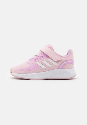 RUNFALCON 2.0 UNISEX - Neutral running shoes - clear pink/footwear white/clear lila
