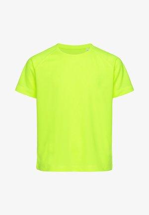 RAGLAN  - Basic T-shirt - cyber yellow
