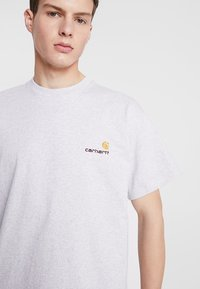 Carhartt WIP - AMERICAN SCRIPT  - T-shirt basique - ash heather - 4