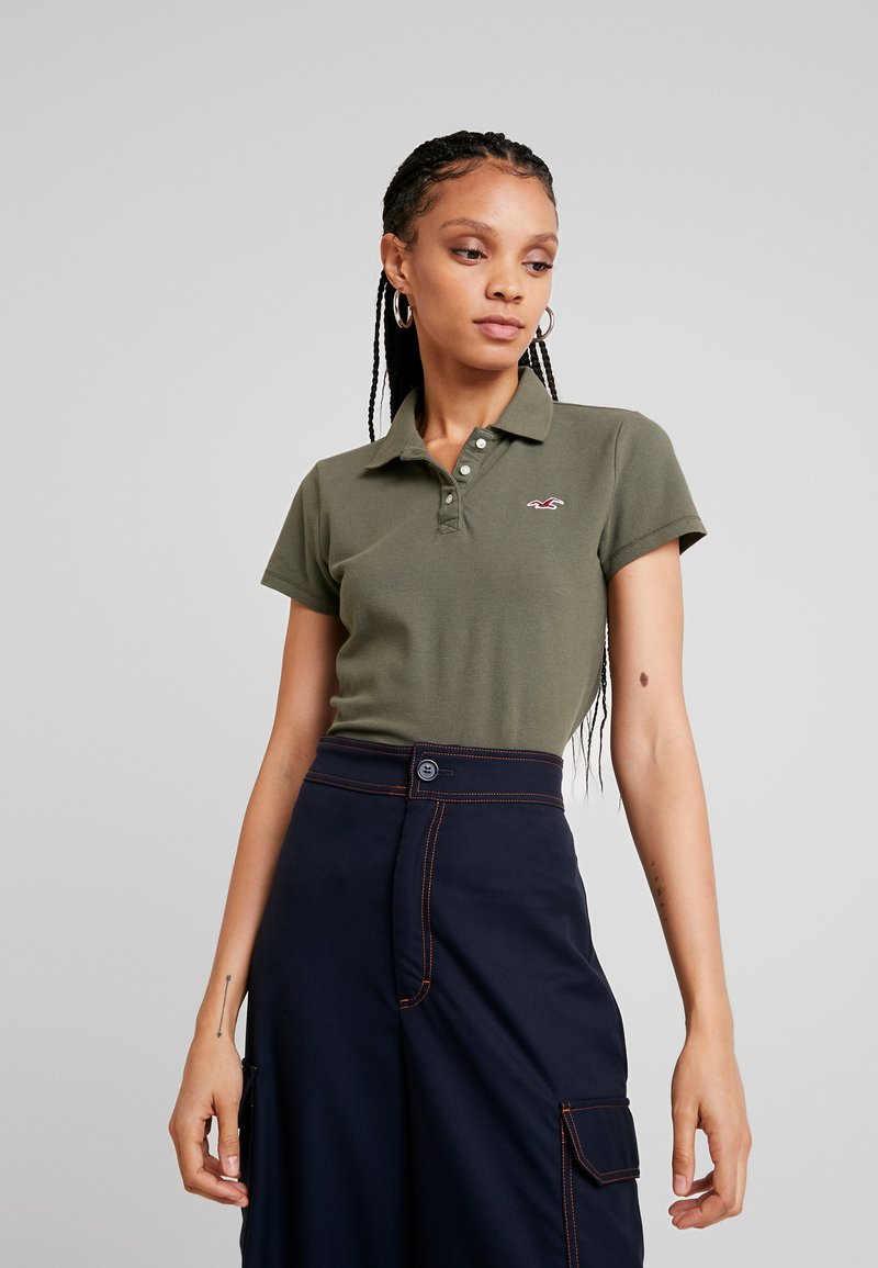 Hollister Co. - CORE  - Polo shirt - olive