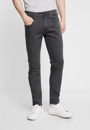 ANBASS HYPERFLEX - Slim fit jeans - blackboard