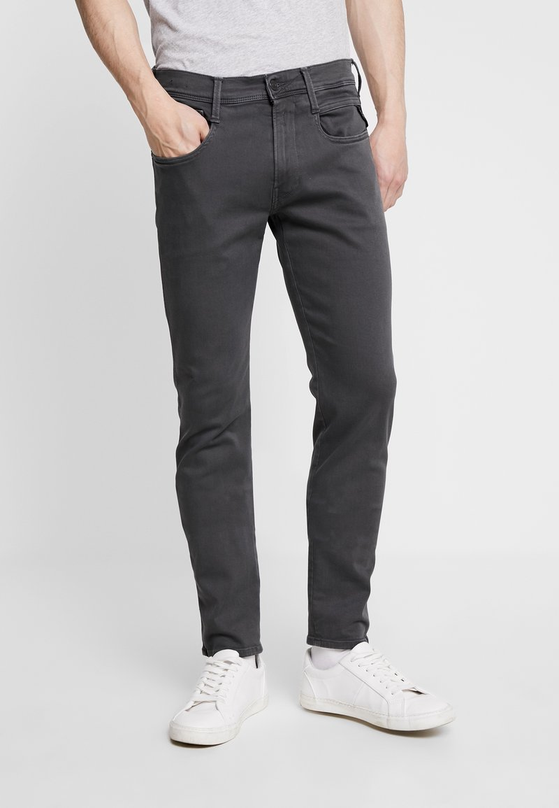 Replay - ANBASS HYPERFLEX - Jeans slim fit - blackboard
