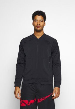 WARMUP JACKET - Kurtka sportowa - black