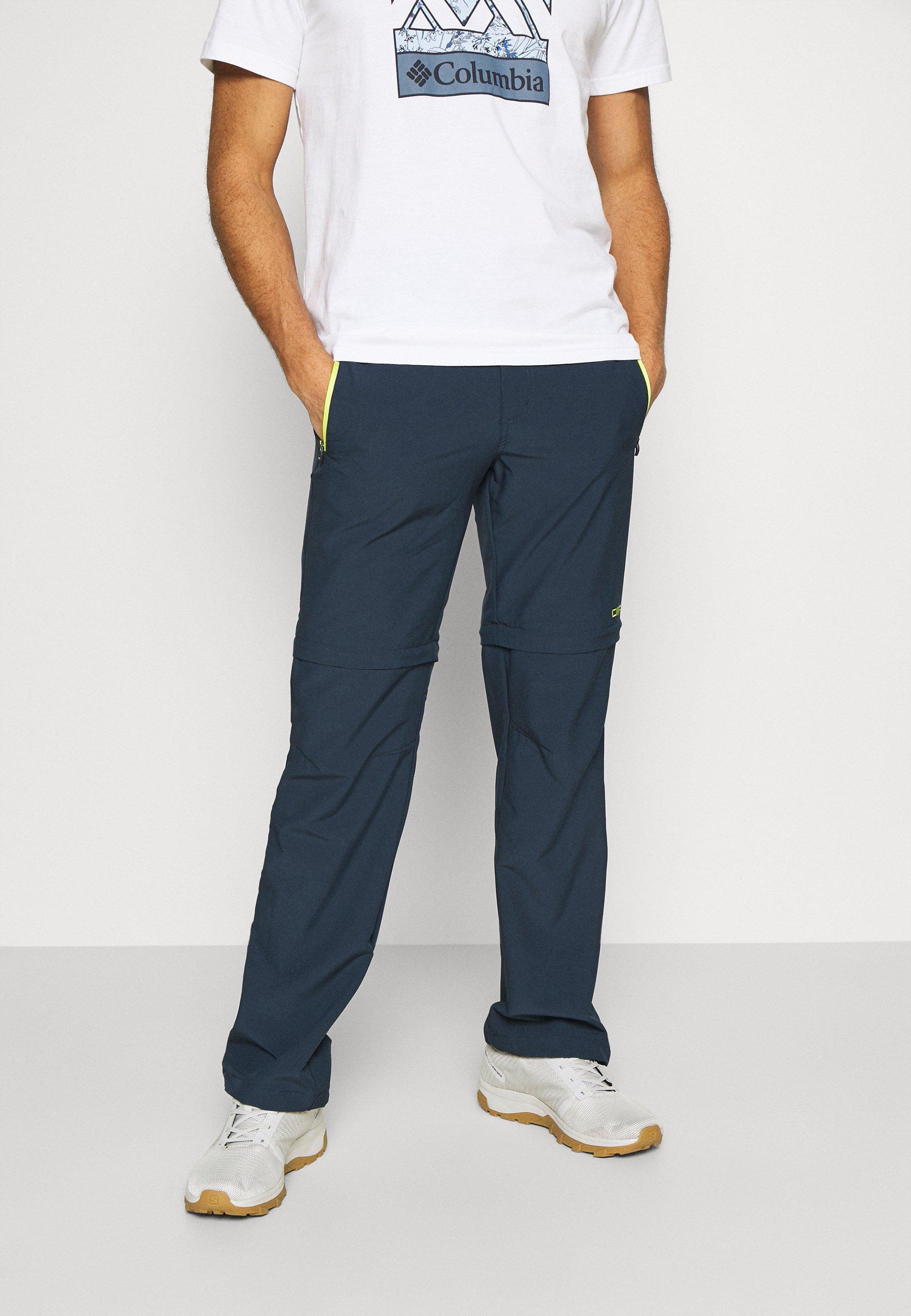 Men MAN ZIP OFF PANT - Trousers