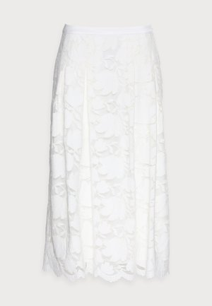 SKIRT - A-linjainen hame - off white