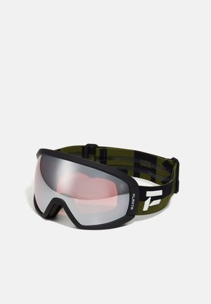 CONTINUOUS UNISEX - Ski goggles - dust green/black