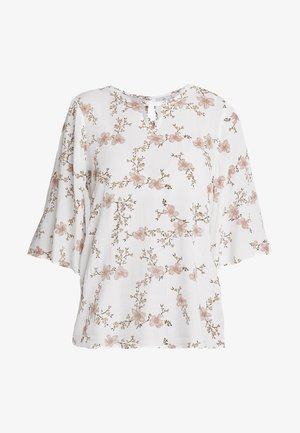 KAVIOLA WING BLOUSE - Blouse - chalk/peach whip