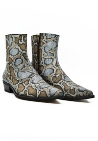 Fertini - Cowboy/biker ankle boot - serpentine gray - 2