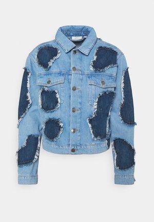JOLEYENE JACKET - Denim jacket - light blue/indigo