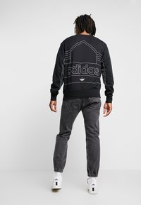 adidas Originals - RIVALRY CREW - Sweater - black/white - 2