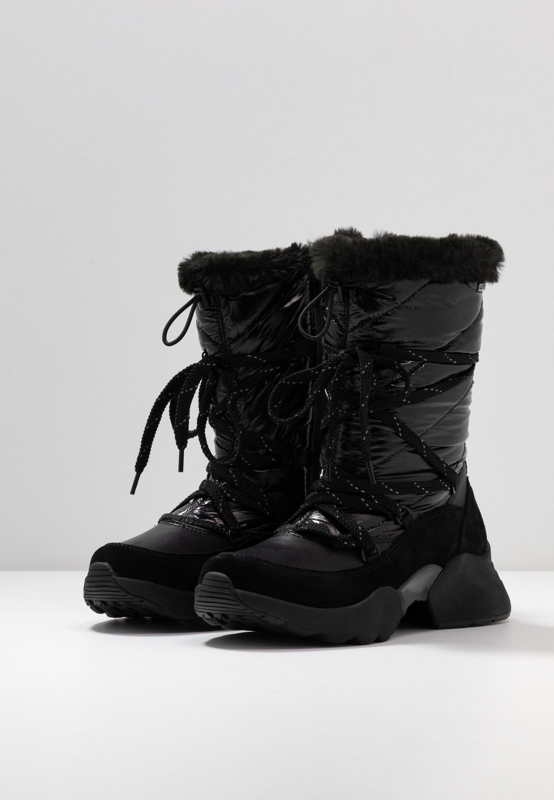 Tamaris Bottes de neige - black - Bottes femme Designer