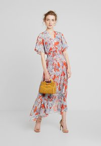 Pedro del Hierro - GATHERED DRESS - Maxi dress - reds - 1