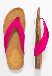 Scholl - TISTOIS - T-bar sandals - fuchsia - 3