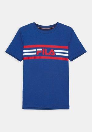 NICKY KIDS UNISEX - Camiseta estampada - blue iolite