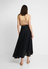 Esprit - SKIRT - Maxi skirt - black - 2