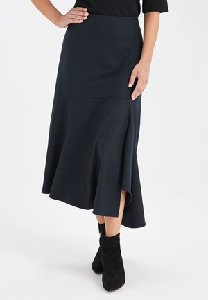 EMMA WILLIS - Maxi skirt - blue