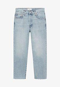 Mango - Straight leg jeans - light blue - 6