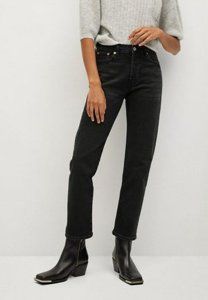 MAR - Straight leg jeans - black denim