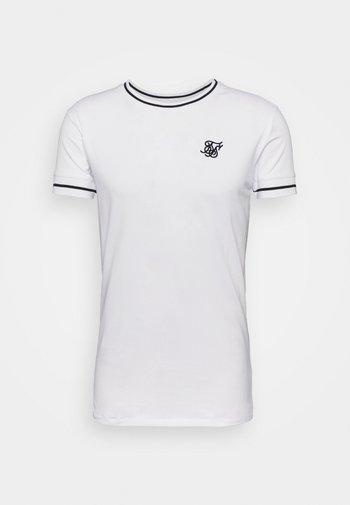IMPERIAL RETRO GYM TEE - T-shirt basic - white/black