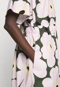 Marimekko - SILOINEN  - Vestito estivo - dark green/lavender - 5
