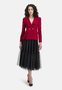 Nicowa - A-line skirt - schwarz - 1