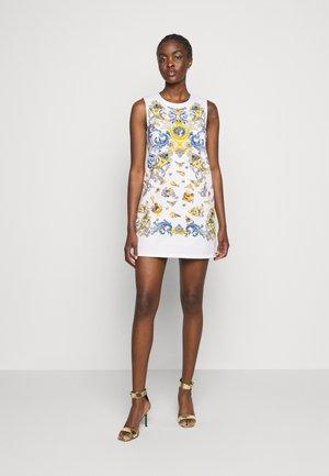 LADY DRESS - Sukienka jeansowa - optical white/blue bell