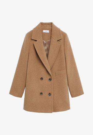 BELLA - Classic coat - mittelbraun