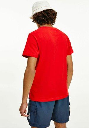 Print T-shirt - light red