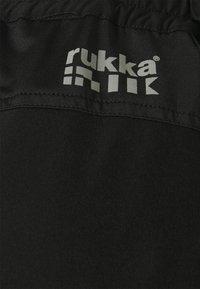Rukka - RUOHOLAMP - Sports shorts - black - 2