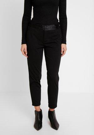 NANNI SHINE - Pantalon classique - black