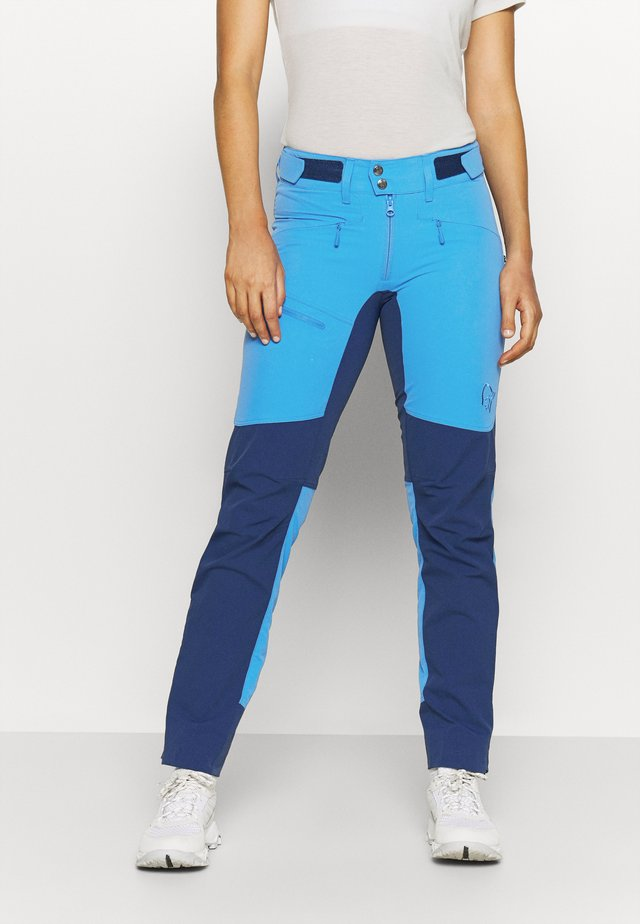 FALKETIND FLEX HEAVY DUTY PANTS - Trousers - blue