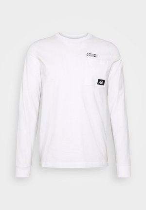 HOLGA - Camiseta de manga larga - bright white
