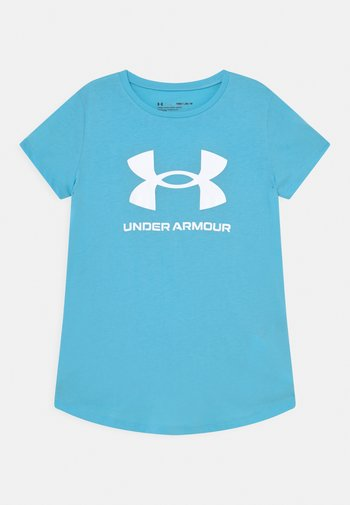 LIVE SPORTSTYLE GRAPHIC - T-shirt z nadrukiem - light blue