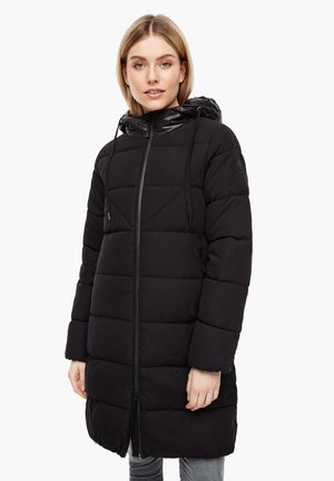 MIT GLÄNZENDEN DETAILS - Winter coat - black melange
