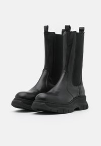 Chio - Platform boots - black dream - 2