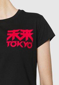 ASICS - FUTURE TOKYO TEE - T-shirt con stampa - performance black - 5