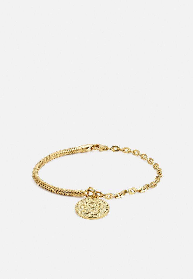 TWOJEYS - OLD COIN BRACELET UNISEX - Armband - gold-coloured