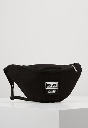 WASTED HIP BAG - Sac banane - black twill