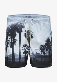 Selected Homme - Swimming shorts - black 2 - 4