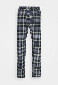 SPACE CHECKED TROUSERS - Kalhoty - dark green