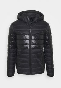 Calvin Klein - HOODED JACKET - Light jacket - black - 4