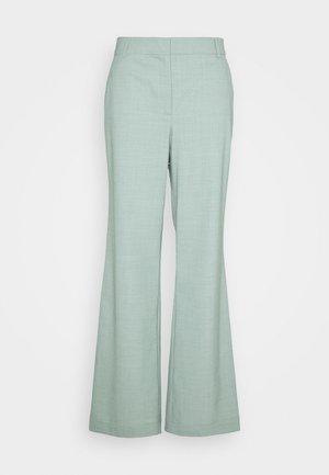 MARLEY FLARE - Trousers - light dusty green