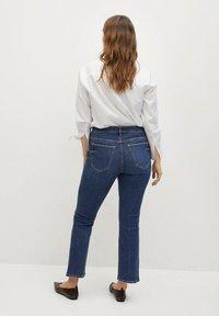Violeta by Mango - MARTINA - Bootcut jeans - dark blue - 2