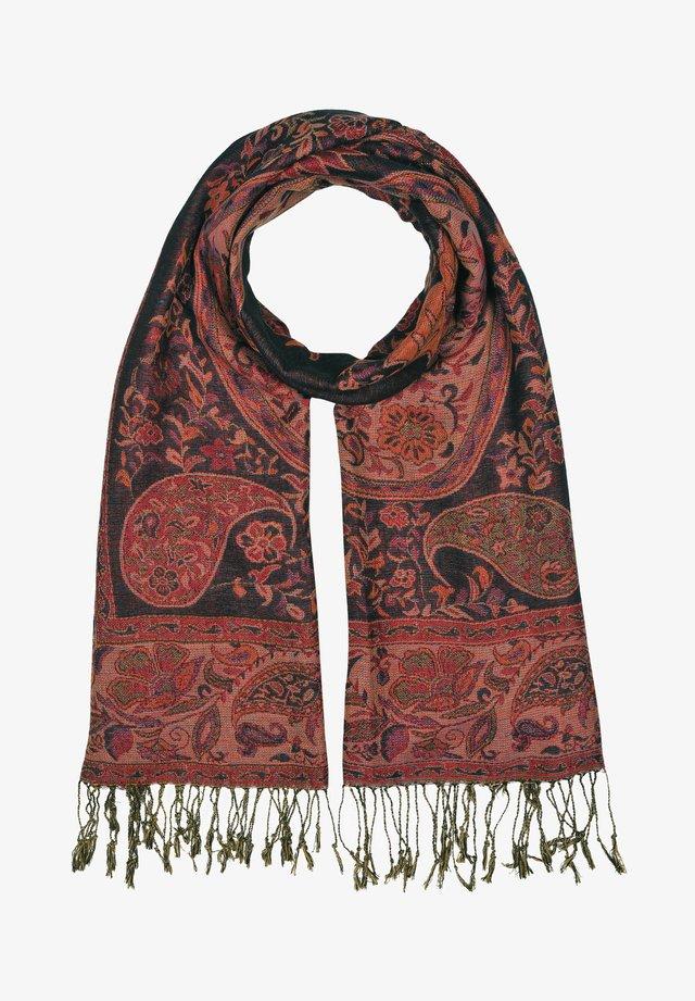 Sjaal - mehrfarbig mit schwarz gem. foto